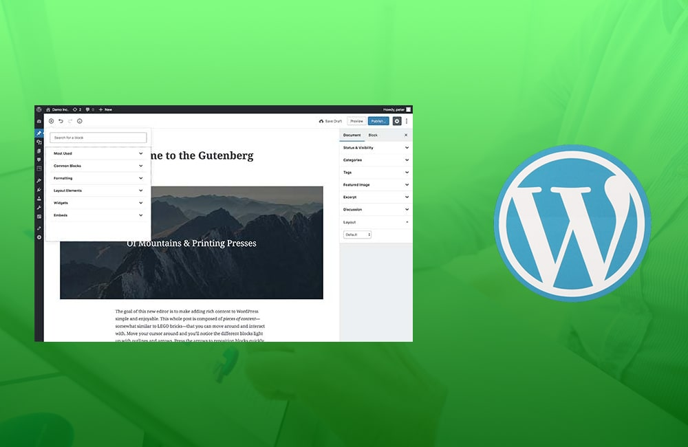 What are the Pros and Cons of Gutenberg WordPress editor?